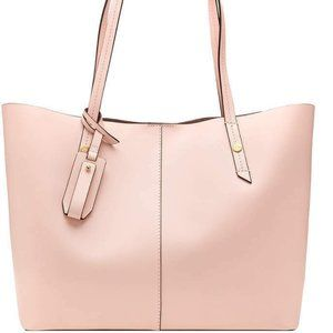 J.Crew Large Soft Pink Leather Tote/Shopper